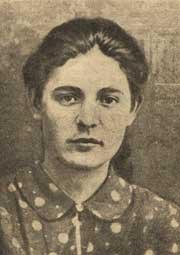 Ульяна Громова (фото из книги -Герои Краснодона-